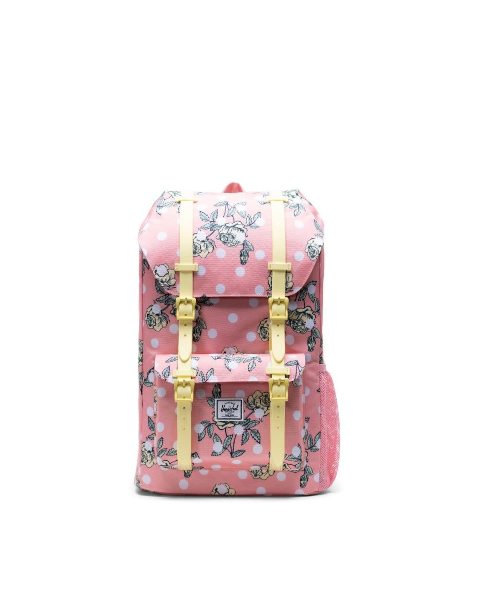 Herschel Supply Herschel Little America Youth Backpack, Polka Dot Floral Peony