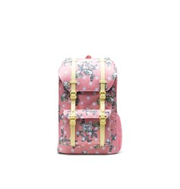 Herschel Supply Herschel Little America Youth Backpack, Polka Dot Floral Peony