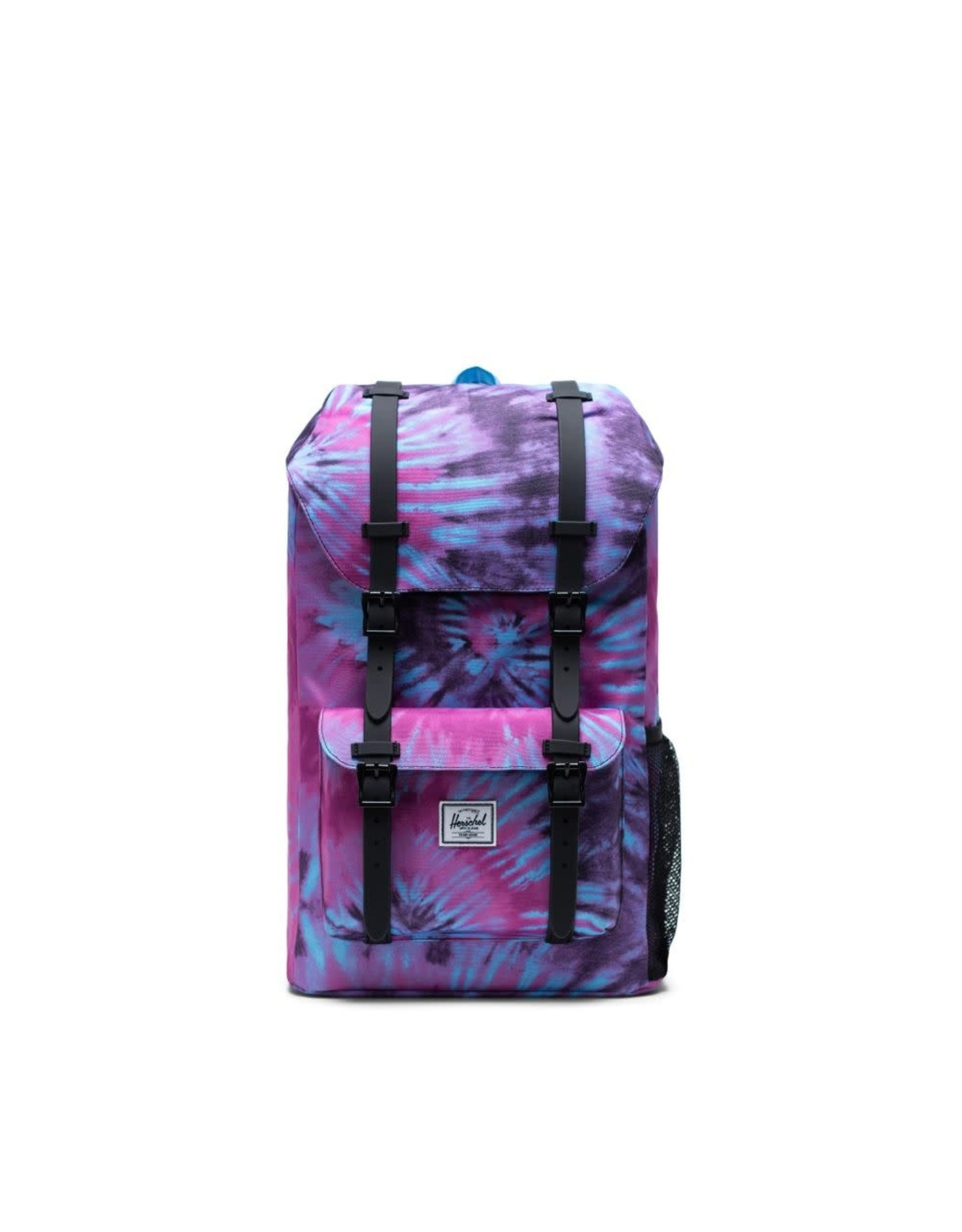 Herschel Supply Herschel Little America Youth Backpack, Black Tie Dye