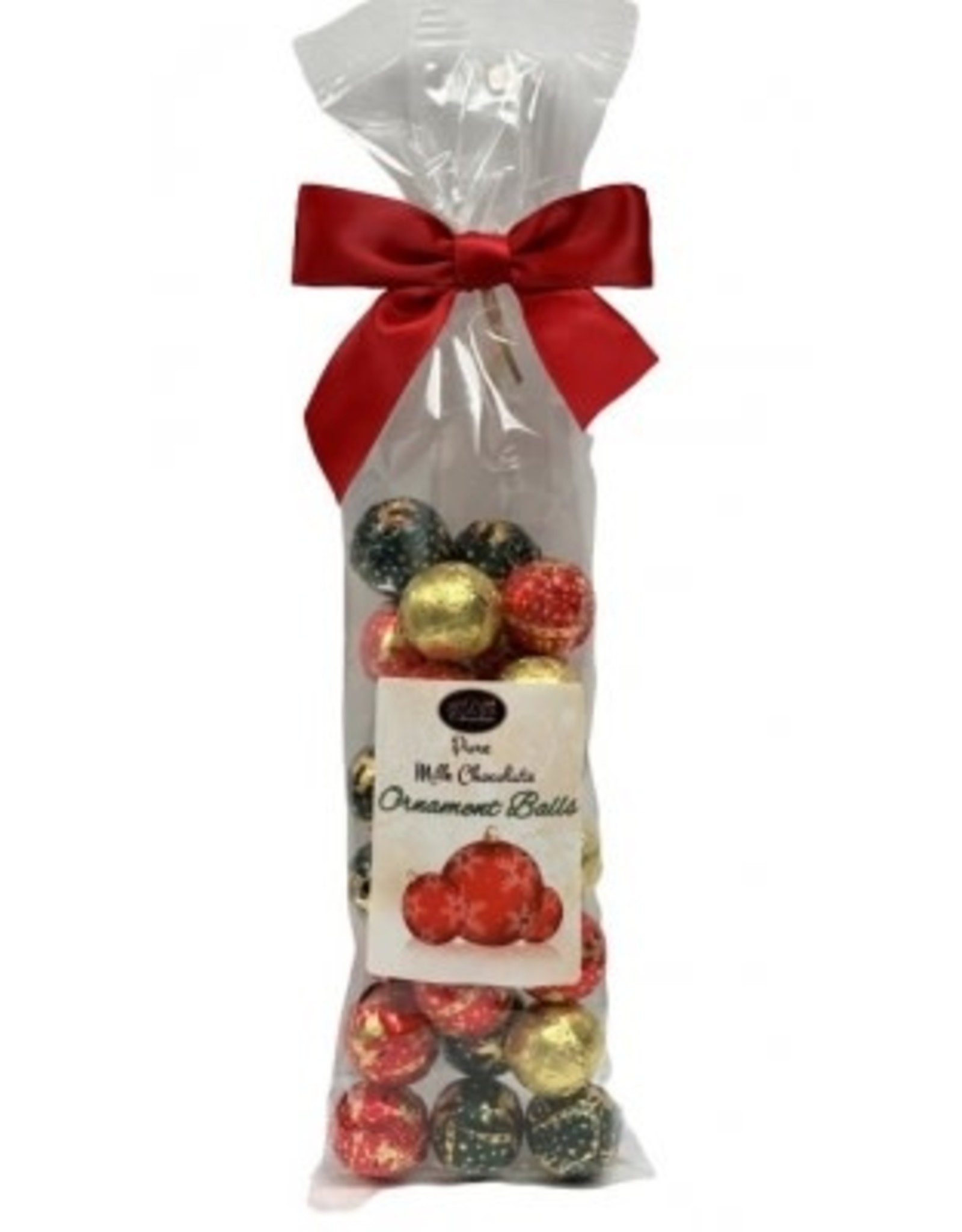 anDea Chocolates Milk Chocolate Ornaments Gift Bag, 170g