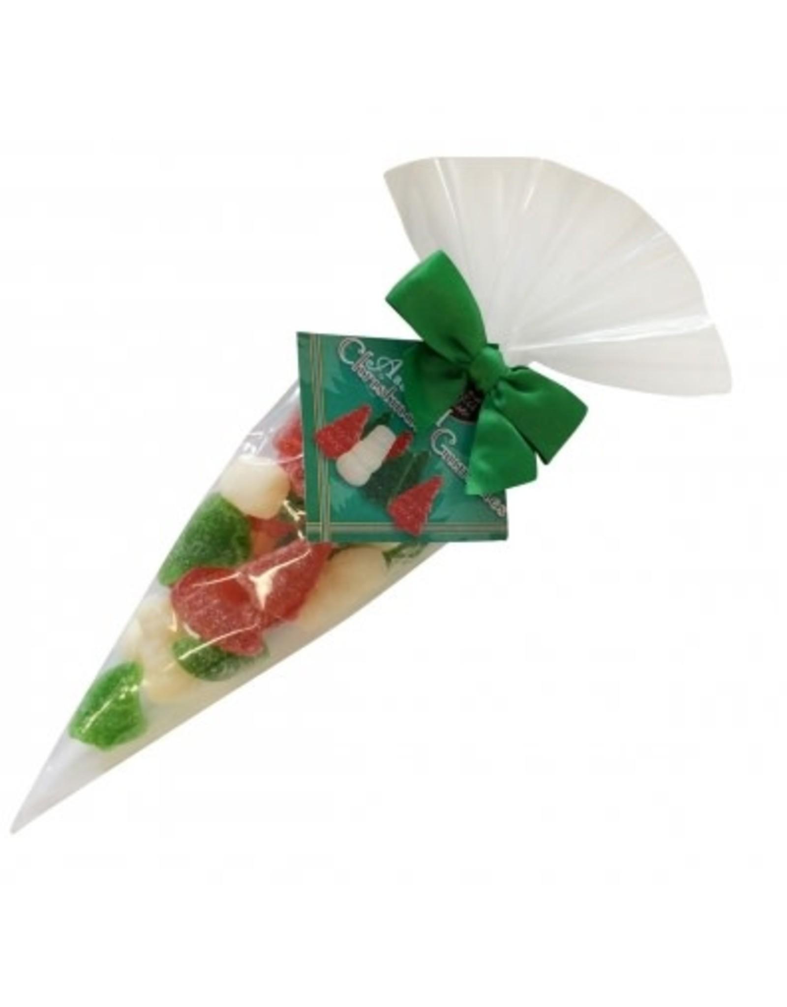 anDea Chocolates Christmas Gummy Cone Bag