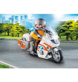 Playmobil Emergency Motorbike