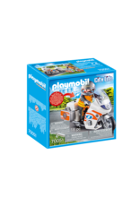 Playmobil Emergency Motorbike