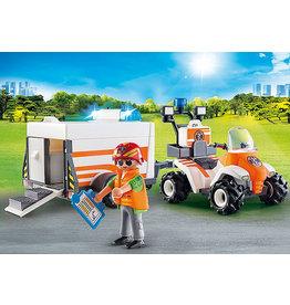 Playmobil Rescue Quad with Trailer