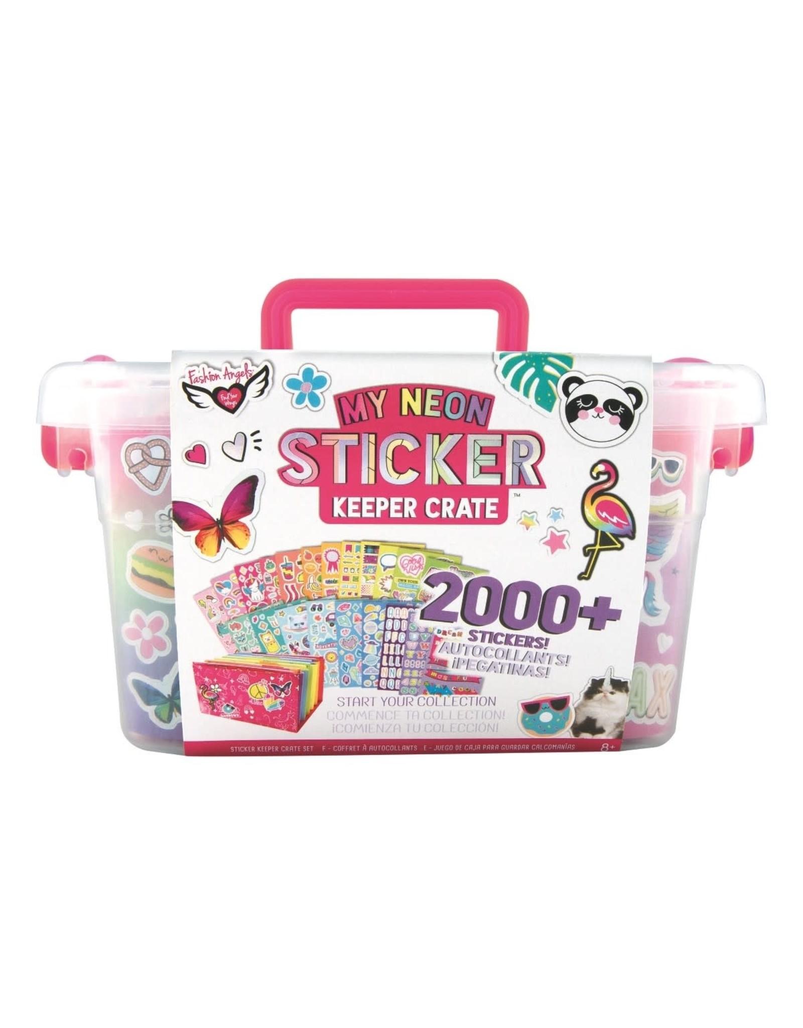 Fashion Angels My Neon Sticker Crate