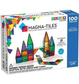 Magna-Tiles Magna-Tiles, Clear Colors Set, 100pcs