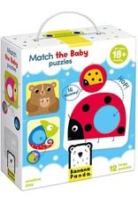 Banana Panda Match the Baby Puzzle