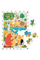 Banana Panda 40 pcs. Observation Puzzle Forest