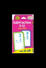 School Zone Subtraction Flash Cards
