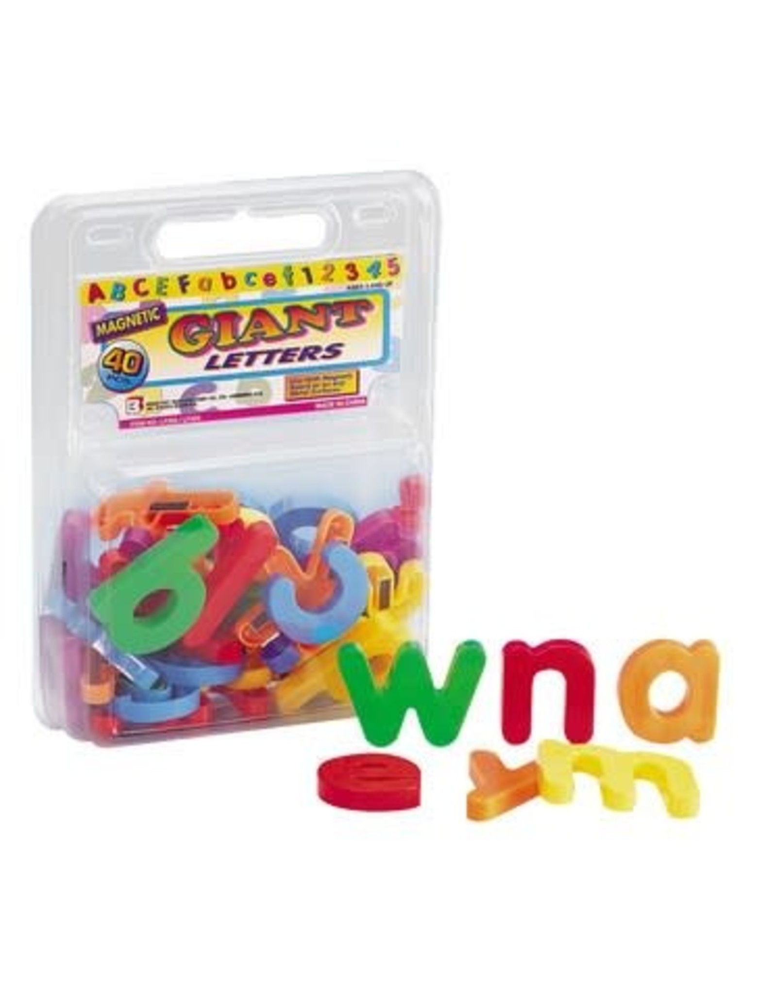 Playwell Giant Magnetic Lowercase Letters