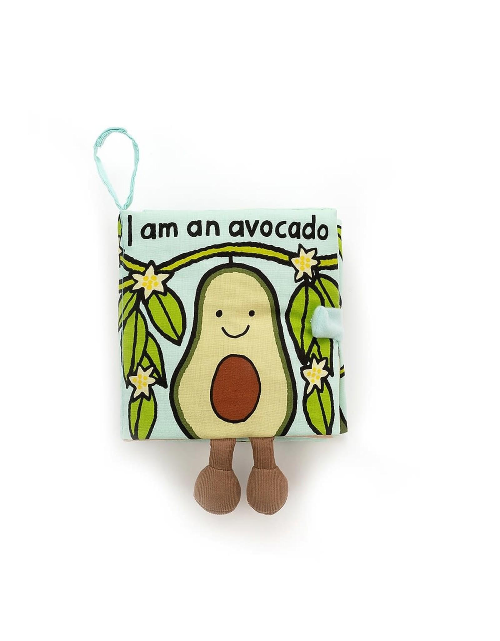 Jelly Cat I am an Avocado Soft book