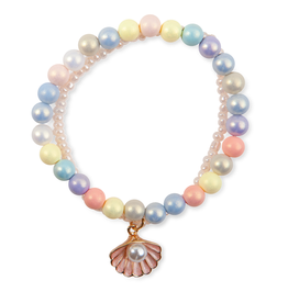 Great Pretenders Boutique Pastel Shell Bracelet