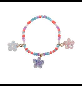 Great Pretenders Boutique Shimmer Flower Bracelet