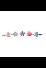 Great Pretenders Boutique Shimmer Flower Rings