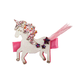 Great Pretenders Boutique Tassy Tail Unicorn Hairclip