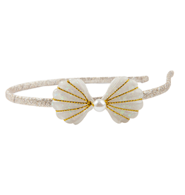 Great Pretenders Boutique Golden Mermaid Shell Headband