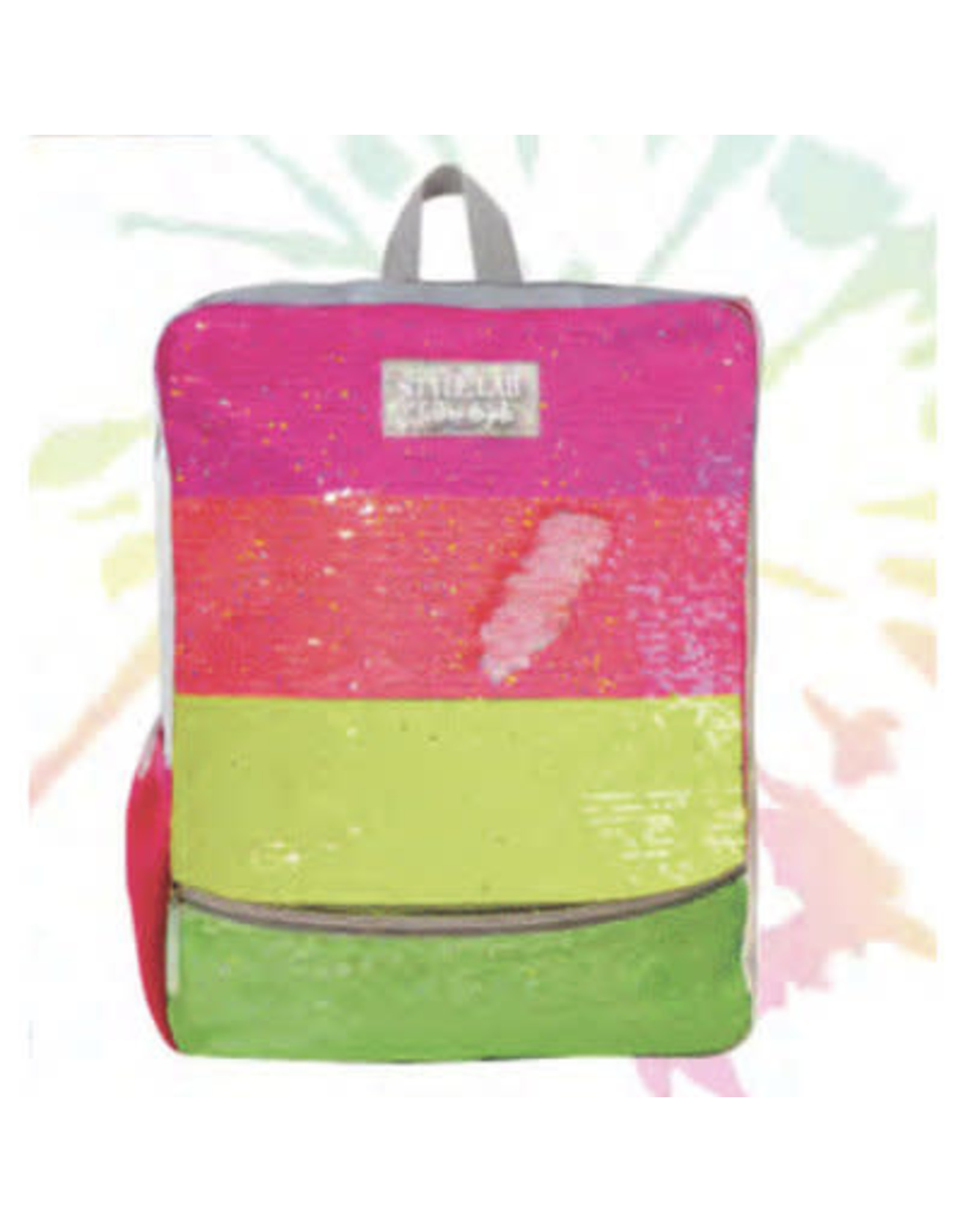 Fashion Angels Magic Sequin Backpack, Neon Stripe
