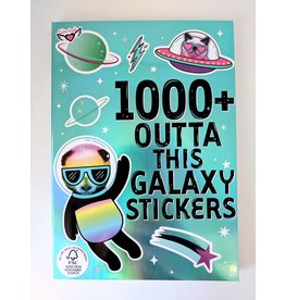 Fashion Angels 1000+ Spacey Far Out Galaxy Stickers