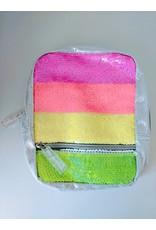 Fashion Angels Magic Sequin Micro-Mini Backpack, Neon Stripe