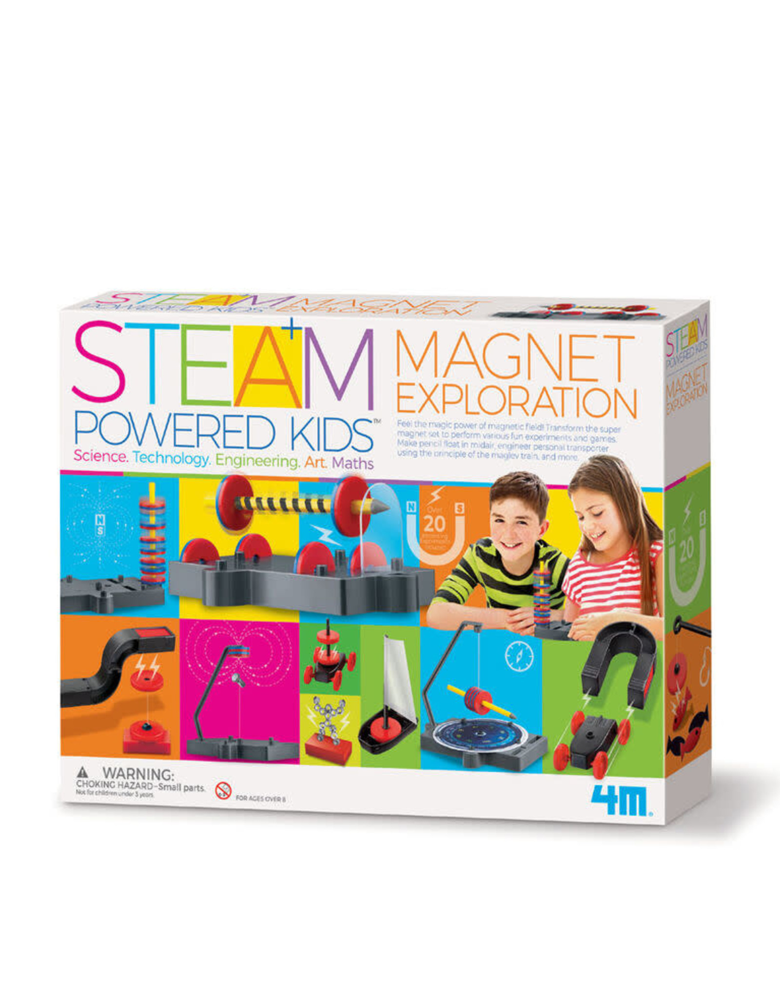 4M Magnet Exploration Science - Steam Kids