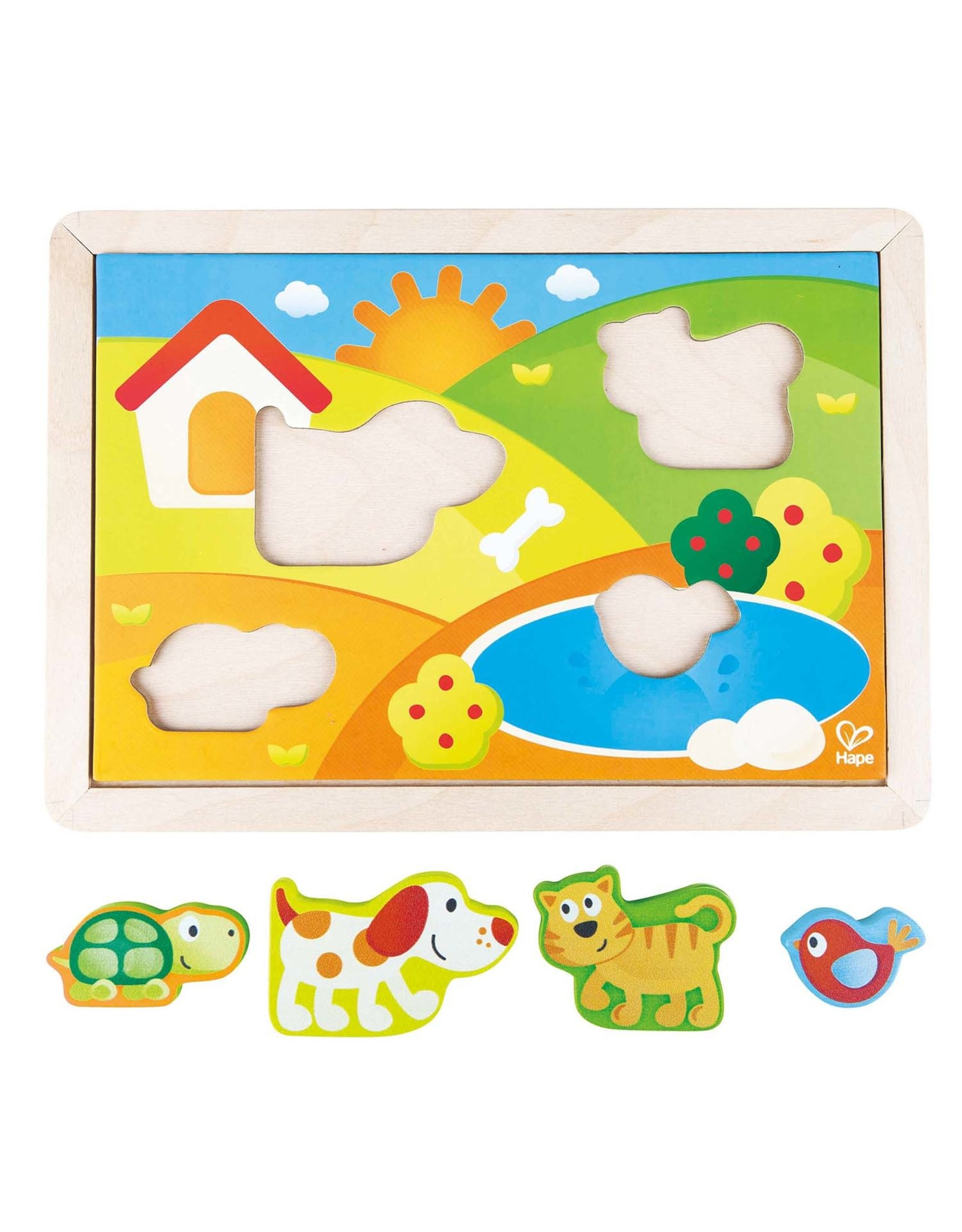 Hape Sunny Valley 3-in1 Puzzle