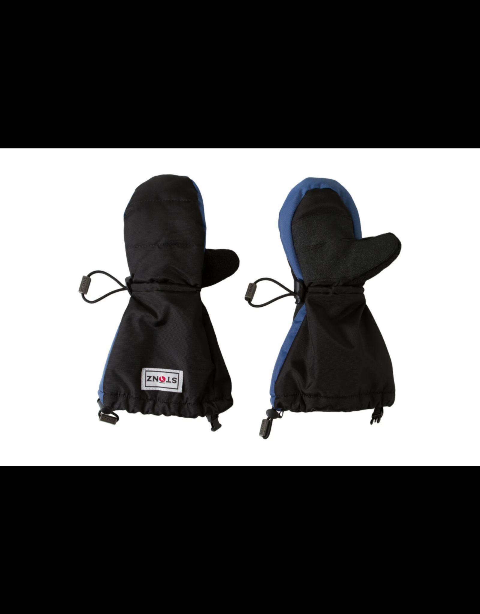 Stonz Stonz Waterproof Youth Mittz Blue/Black