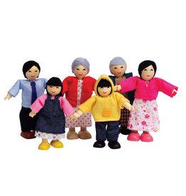 Hape Happy Family, Asian