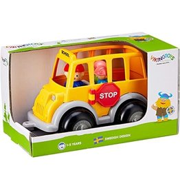 VikingToys School Bus in Gift Box