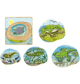 Beleduc Layer Puzzle, Frog