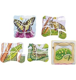 Beleduc Layer Puzzle, Butterfly
