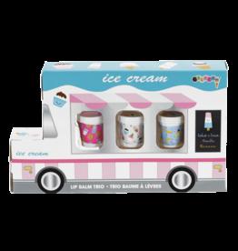 Iscream Ice Cream Truck Lip Balm Trio