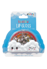 Iscream Rainbow Lip Gloss, Strawberry Flavour