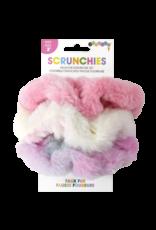 Iscream Faux Fur Scrunchie Set