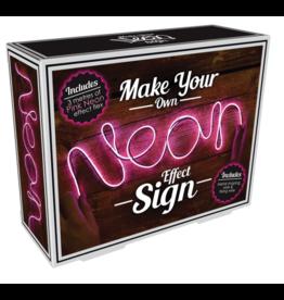 Iscream DIY Neon-Effect Pink Light