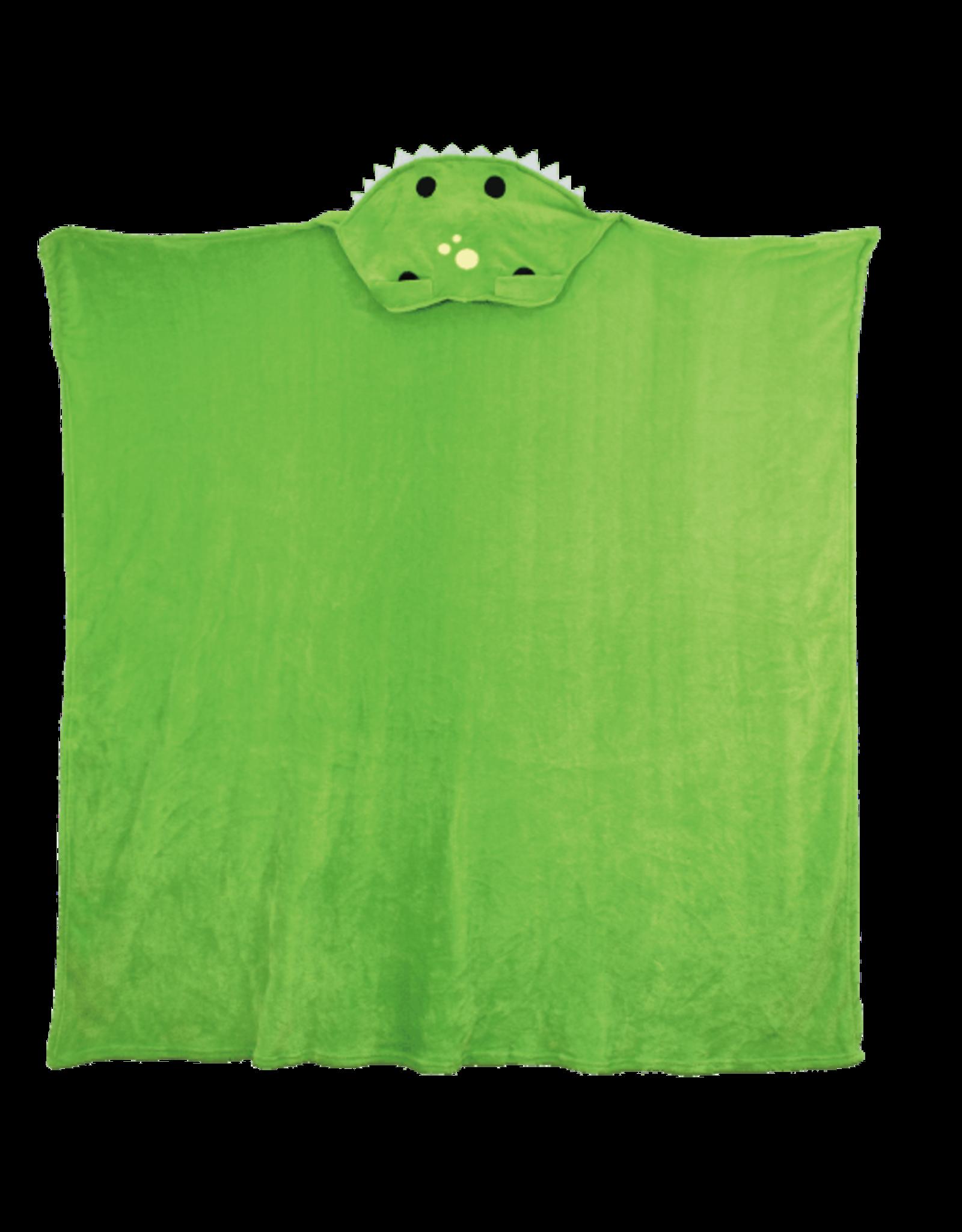Iscream Dino Hooded Blanket