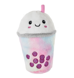 Iscream Bubble Tea Furry Pillow