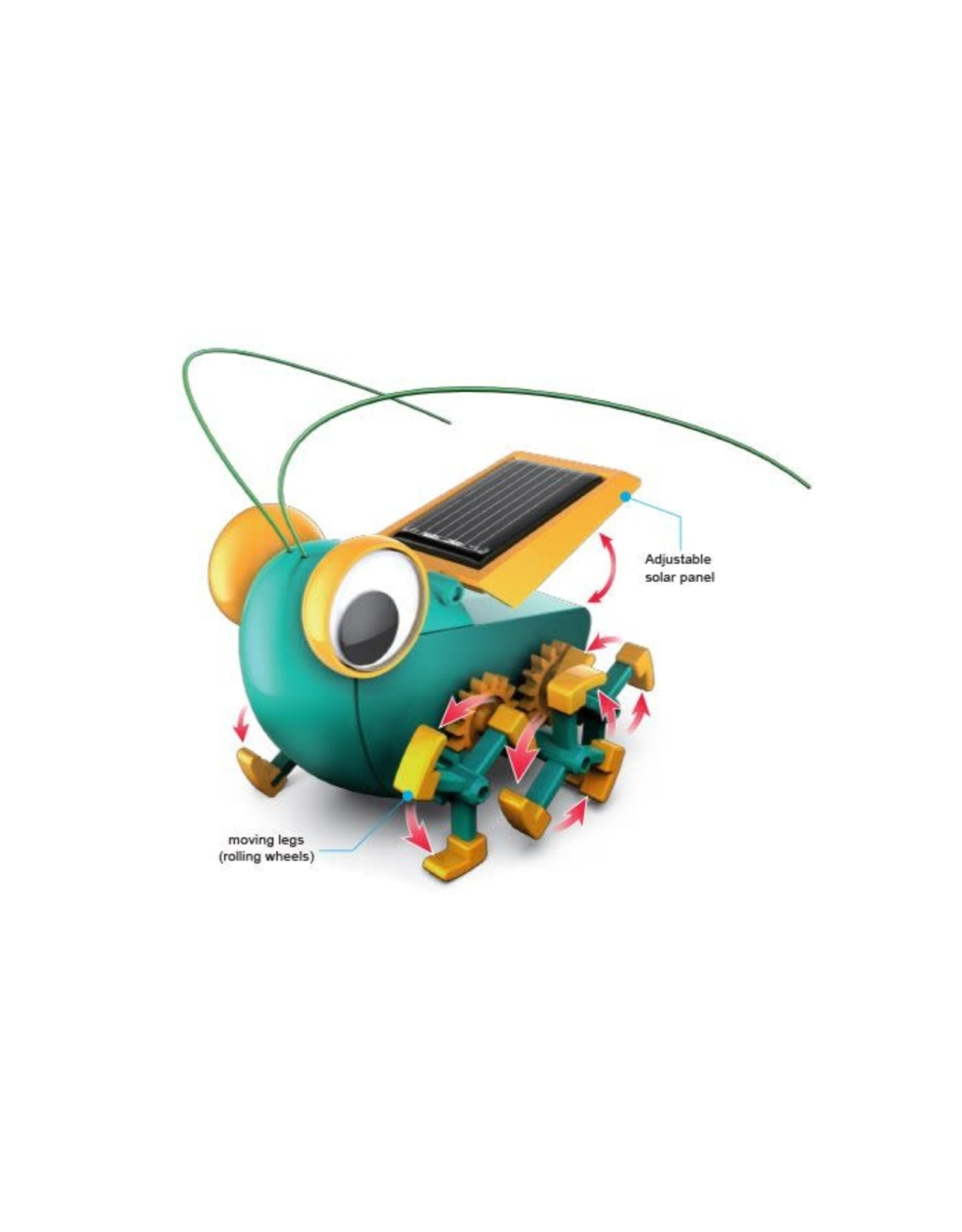 Elenco BugBot: Solar Crawler