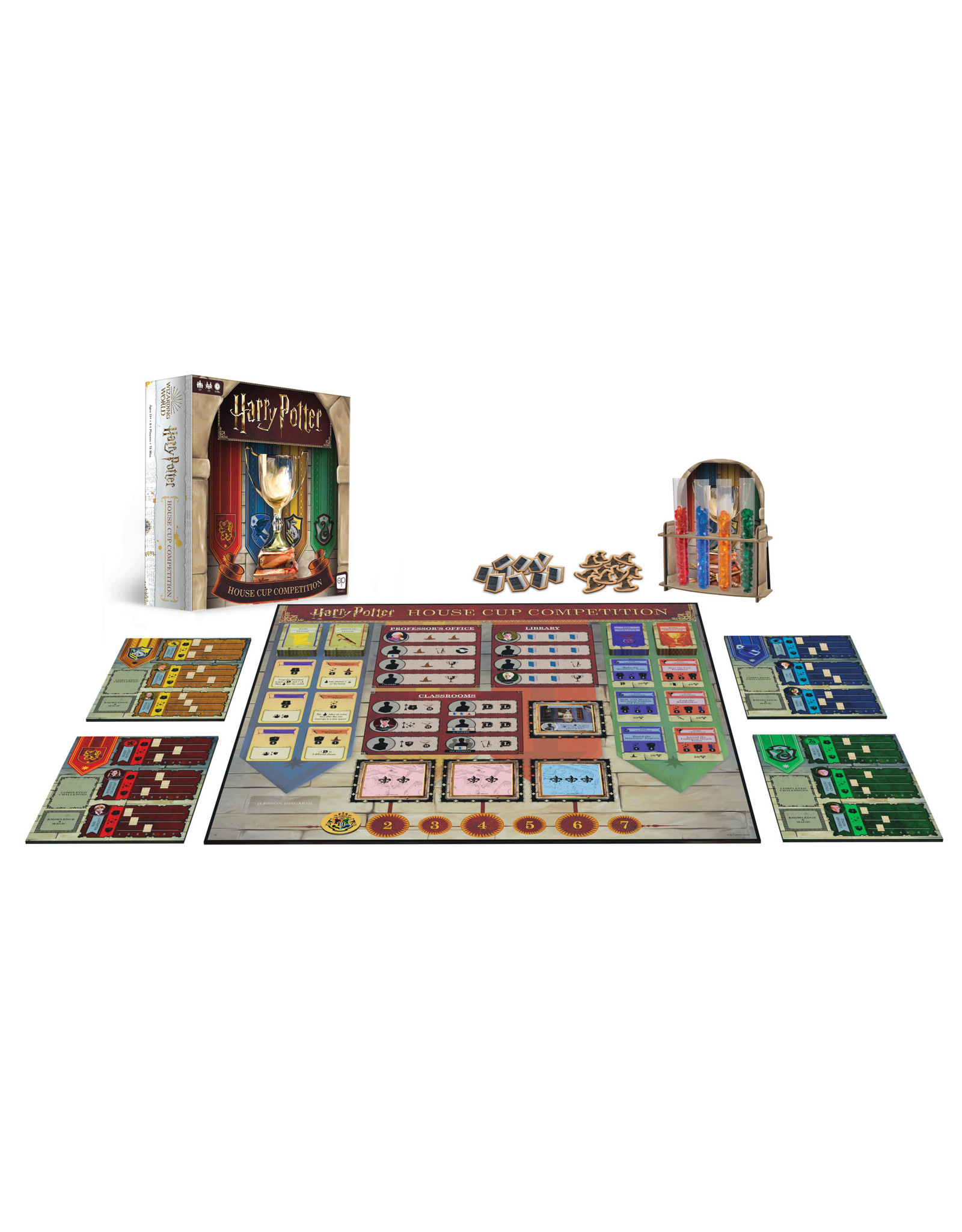 USAopoly Harry Potter House Cup Competition