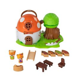 Fat Brain Toy Co. Timber Tots, Mushroom Surprise