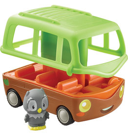 Fat Brain Toy Co. Timber Tots, Adventure Bus