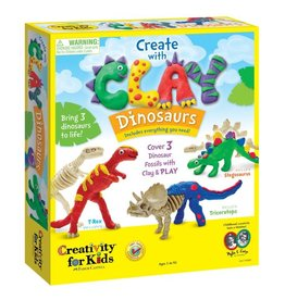 Creativity For Kids Create with Clay, Dinosaurs