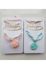 Great Pretenders Boutique Rose Necklace