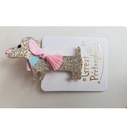 Great Pretenders Boutique Dachshund Hairclip