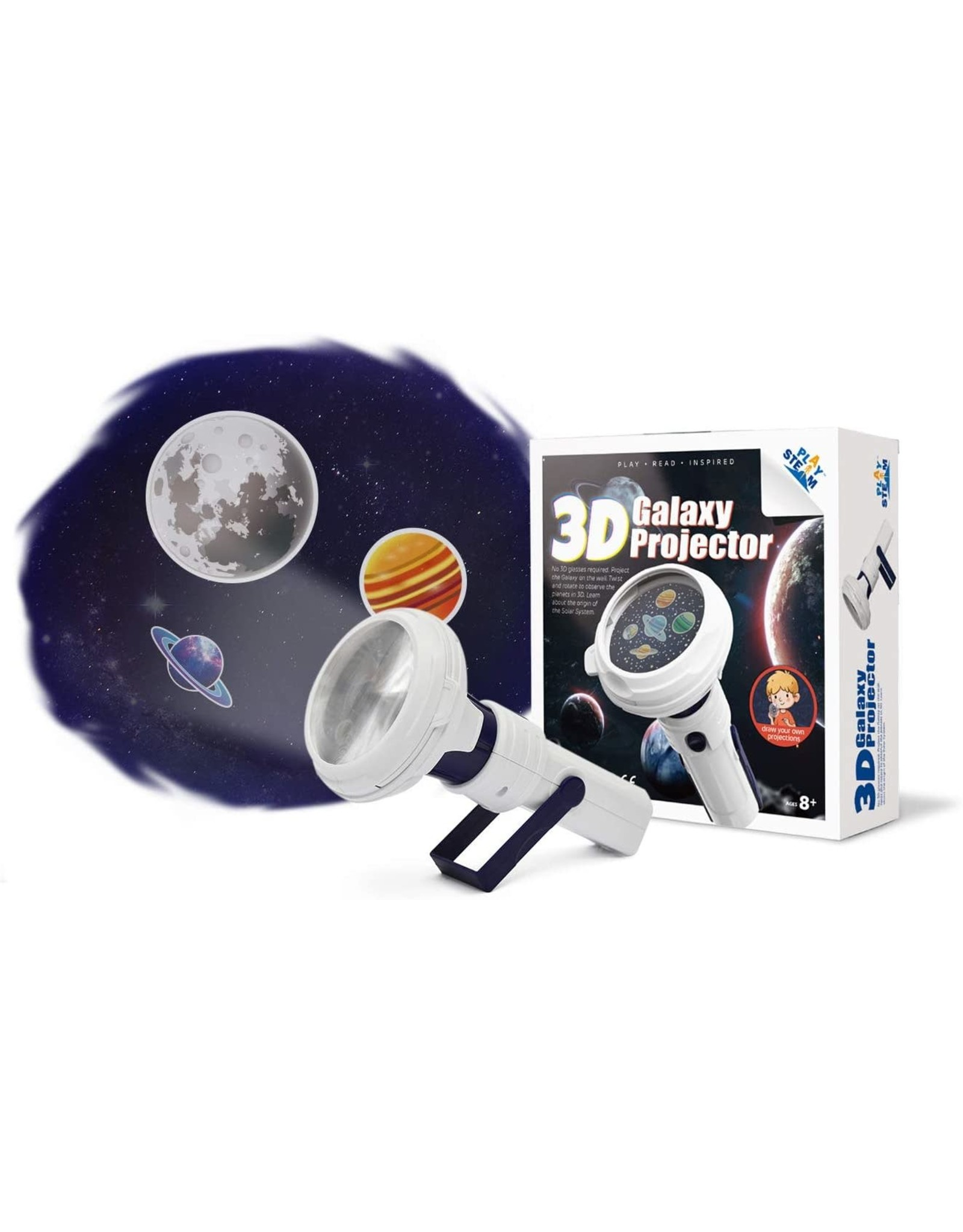 PlaySteam 3D Galaxy Projector