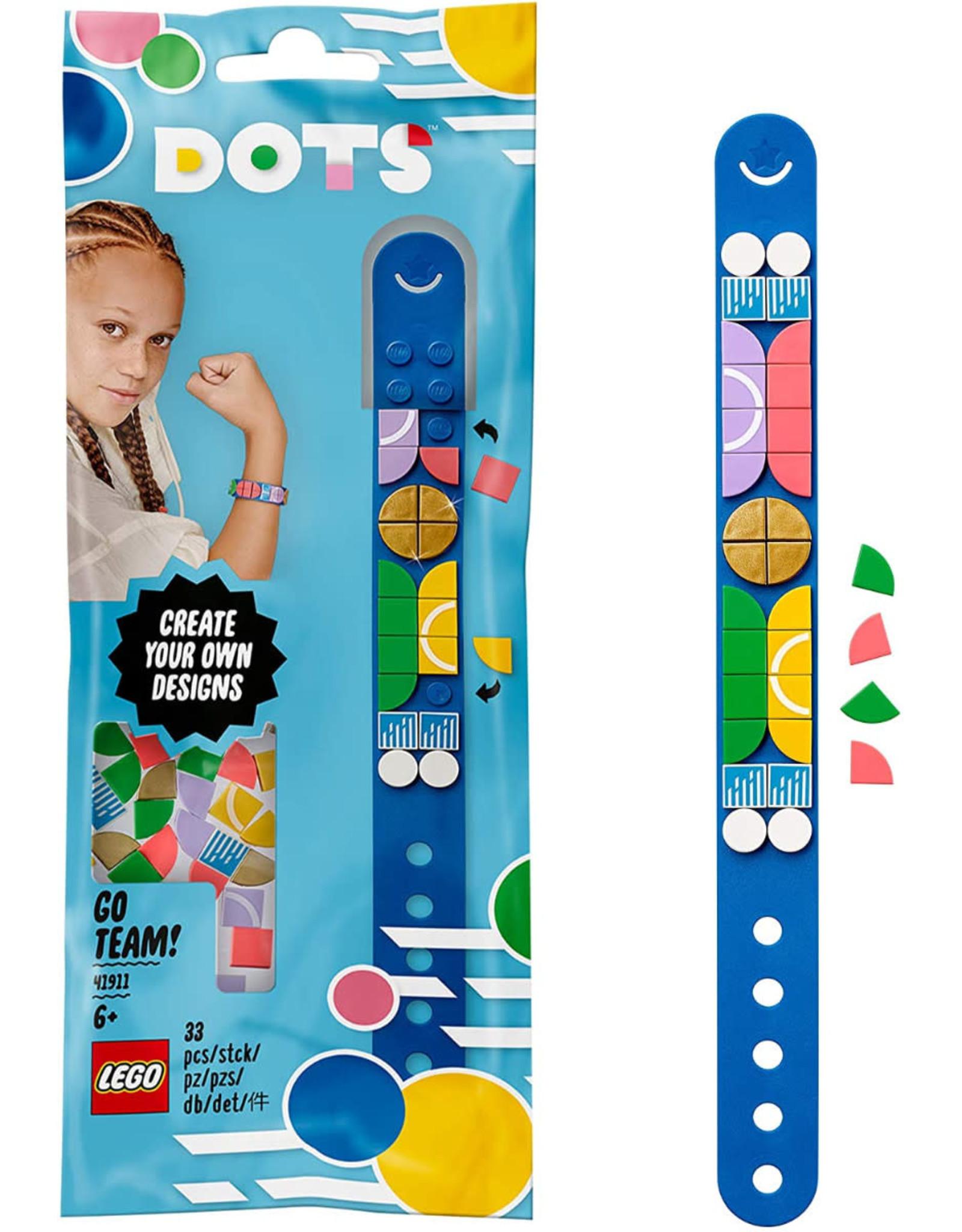 LEGO LEGO Dots, Go Team! Bracelet