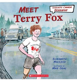 Scholastic Canada Meet Terry Fox (HC)