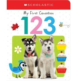 Scholastic Canada My First Canadian 123 (BB)