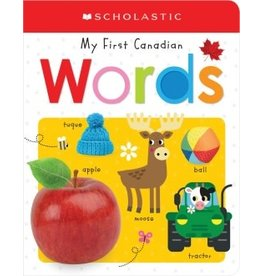 Scholastic Canada My First Canadian Words (BB)