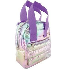 Fashion Angels Mini Backpack Puffer, Pastel Gradient