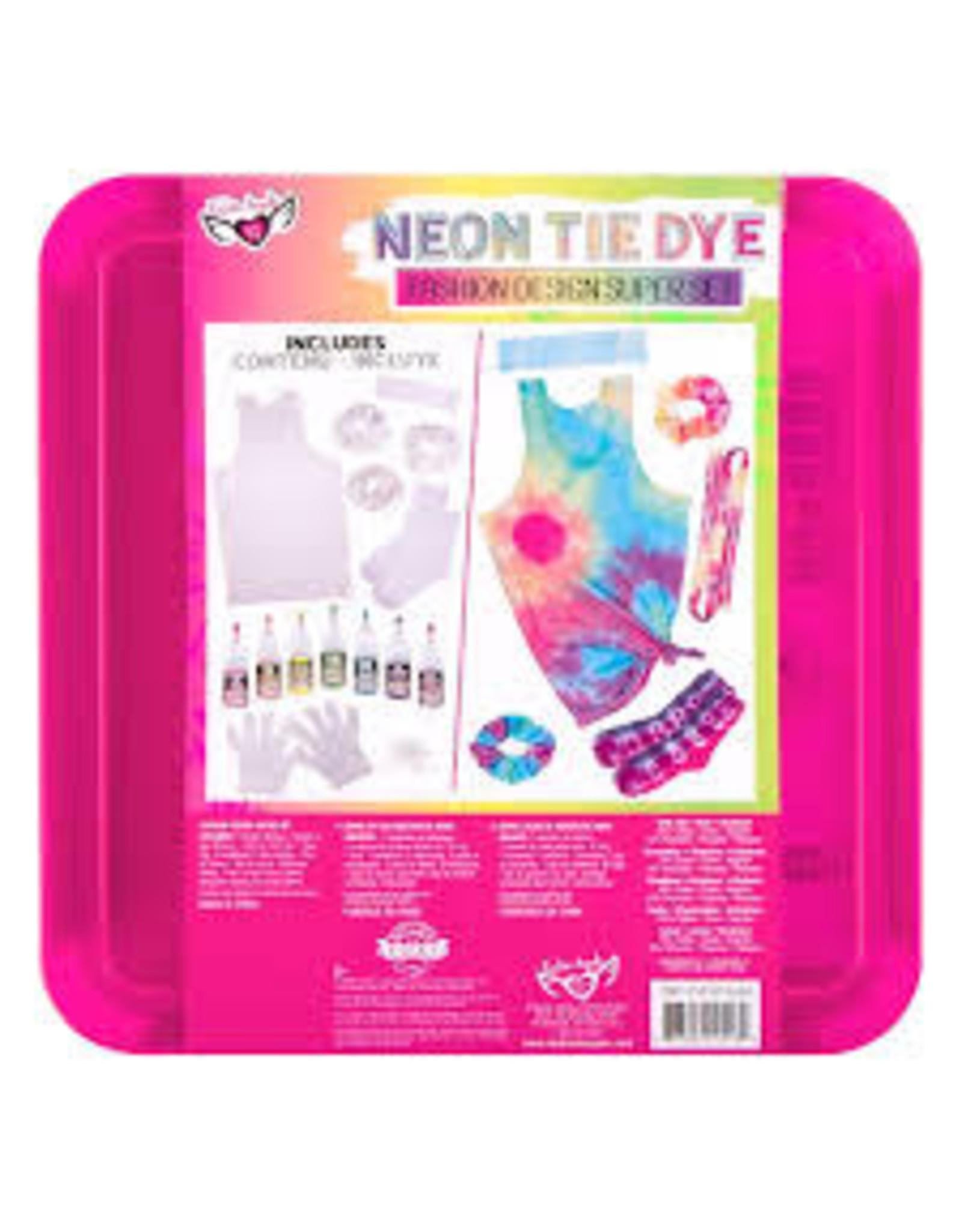 Fashion Angels Neon Tie Dye Fashion Design Super Set